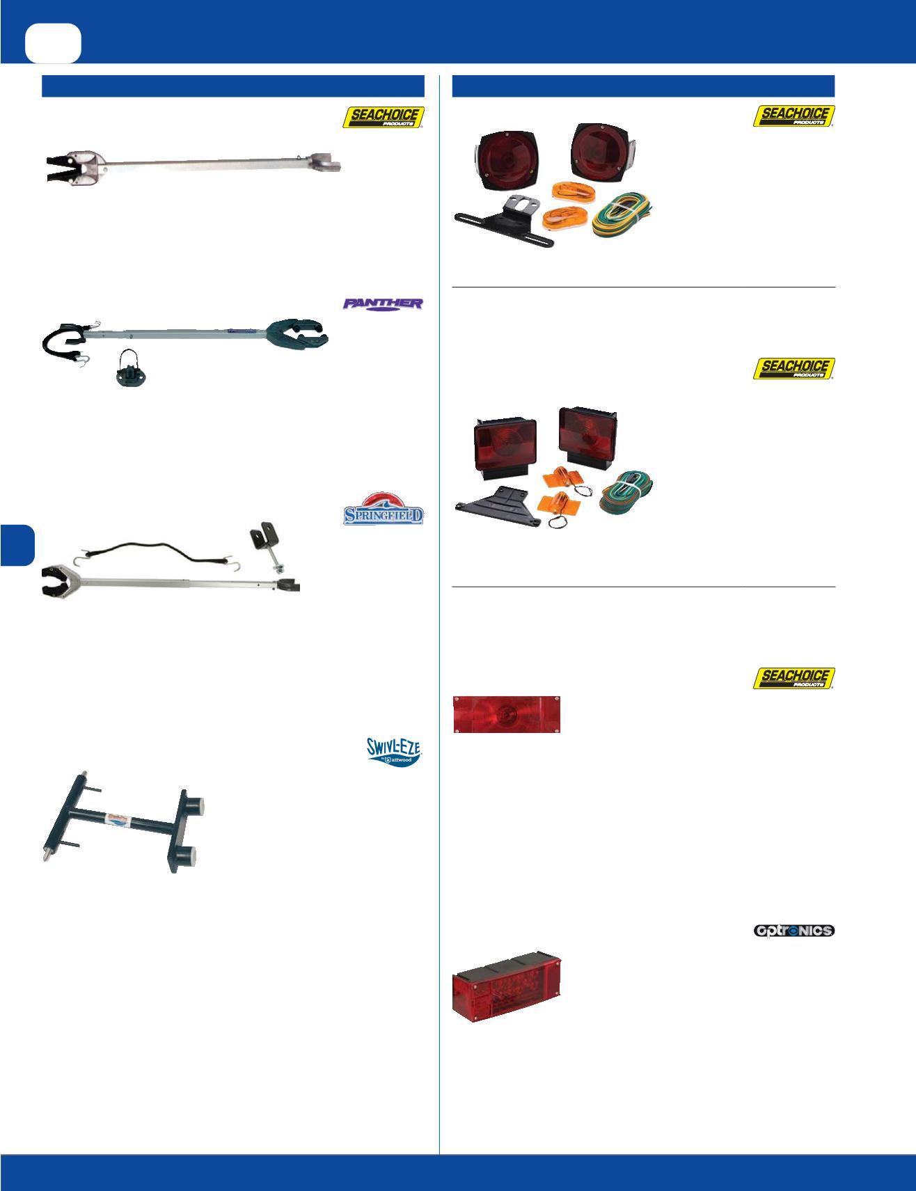 USA Seachoice 50-28001 Salva transom ajustable